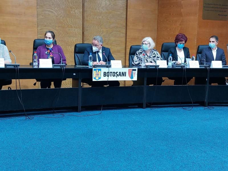 Ședință de lucru la Prefectură cu o delegație a Ministerului Sănătății din Republica Moldova