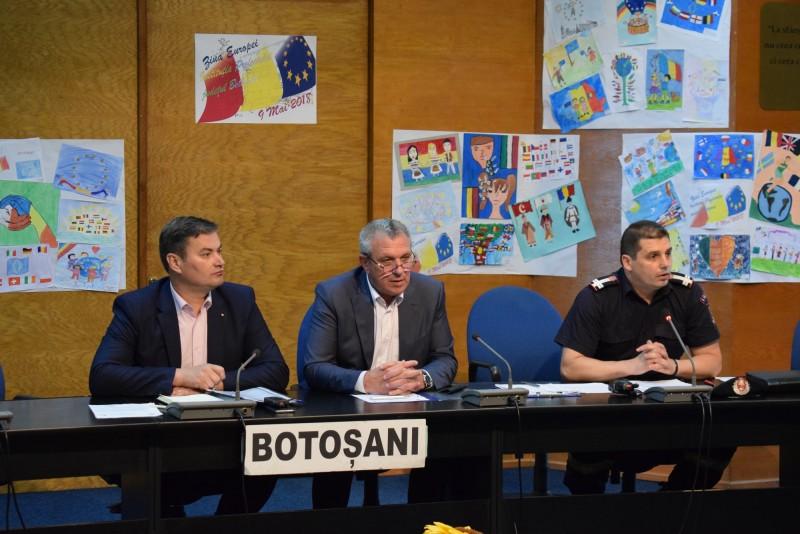 Şedinţă extraordinară a CJSU Botoșani, din cauza avertizărilor meteo şi hidro!