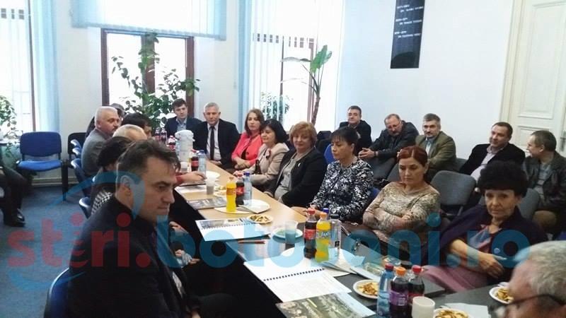 Şefi din Sănătatea din Republica Moldova şi directori de spitale, prezenţi la Botoşani-FOTO