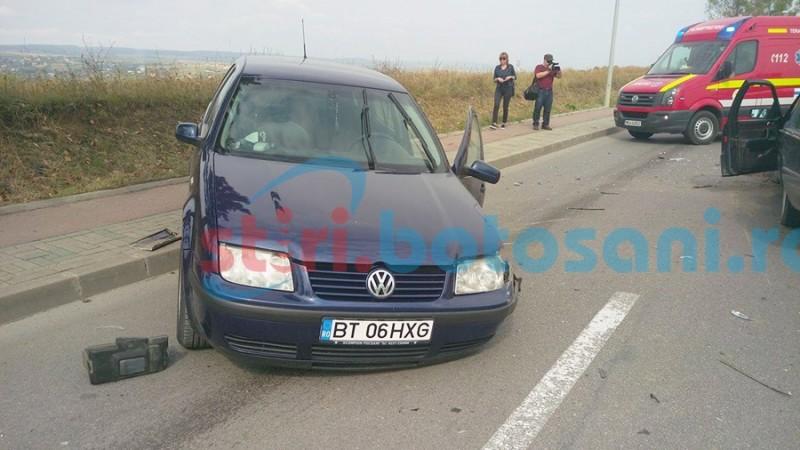 Şeful IPJ Botoşani despăgubit după ce a fost victimă într-un accident rutier