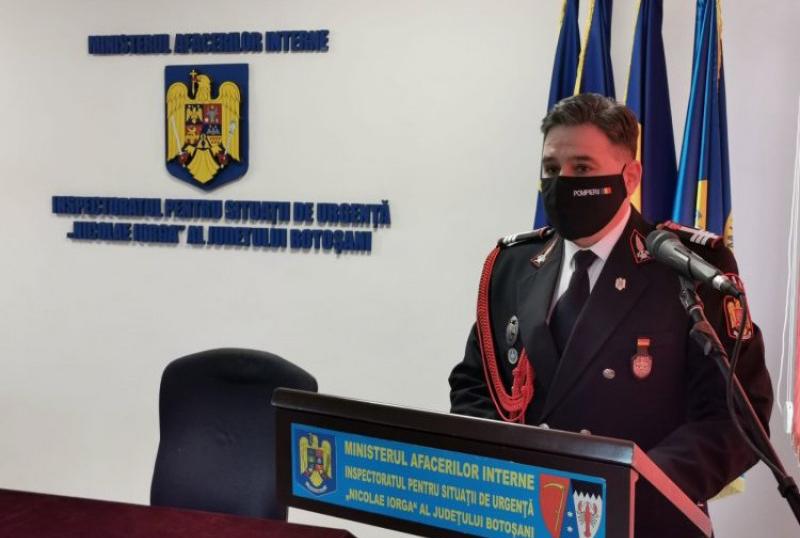 Șeful ISU Botoșani, internat în spital