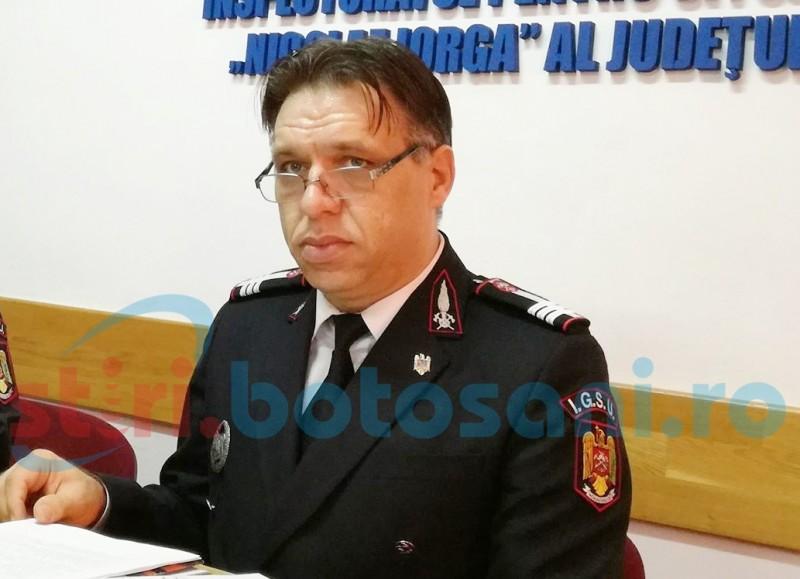 Șeful ISU din Botoșani, confirmat cu COVID