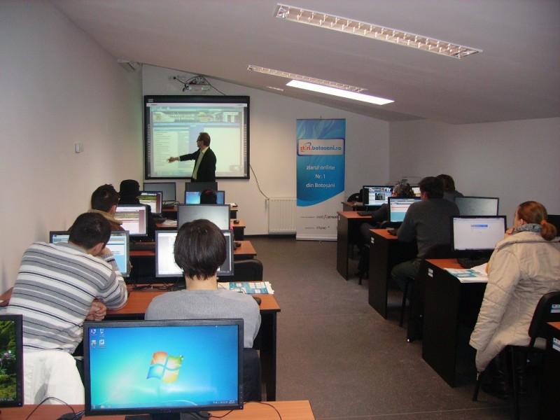 Seminar de instruire in administrarea paginilor web din portalul Comune.Botosani.Ro