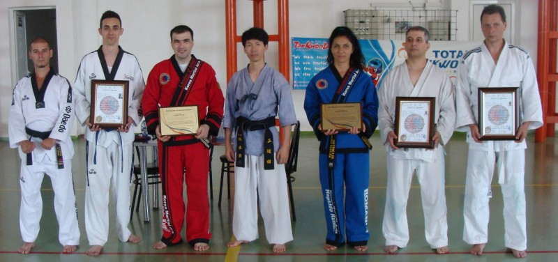 Seminar la Bucecea cu maestrul artelor martiale JANG HEE CHANG! FOTO