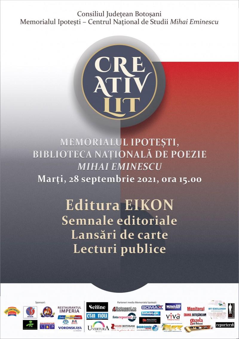 Semnale editoriale și recital de poezie la Memorialul Ipotești