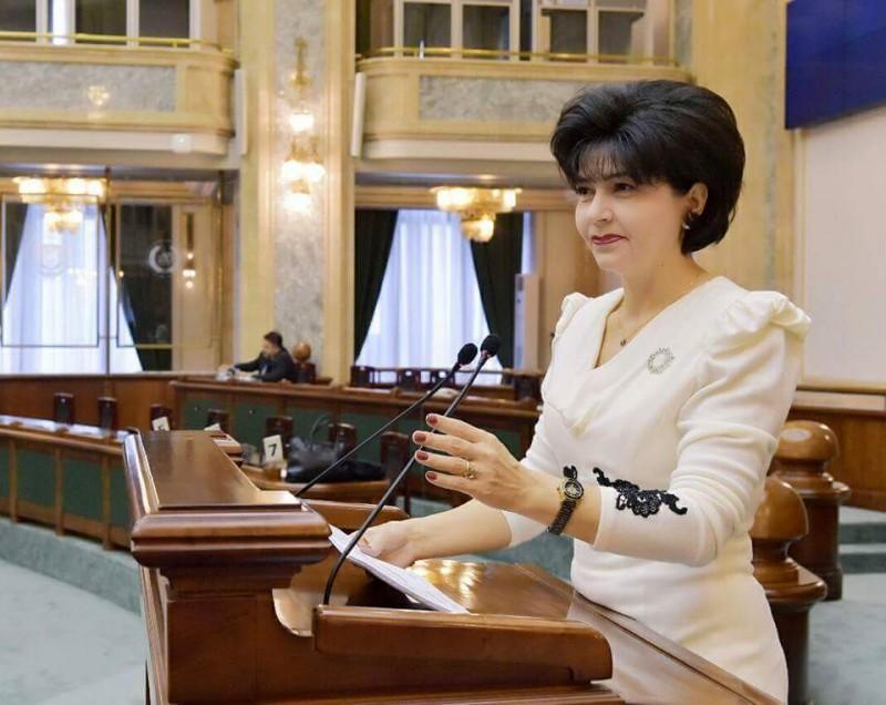 Senatorul PSD Doina Federovici, prima femeie chestor, aleasă în conducerea Biroului Permanent al Senatului României