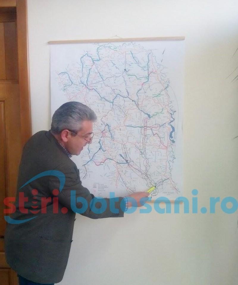 Sensuri giratorii pe mai multe drumuri din județul Botoșani! Vezi unde!