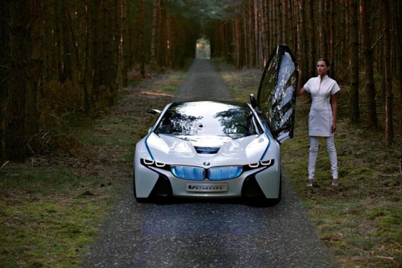 Senzatie! BMW Vision EfficientDynamics Concept la Frankfurt 2009