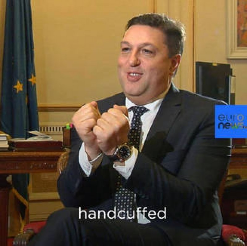 Serban Nicolae, pentru Euronews: Coruptii nu trebuie arestati