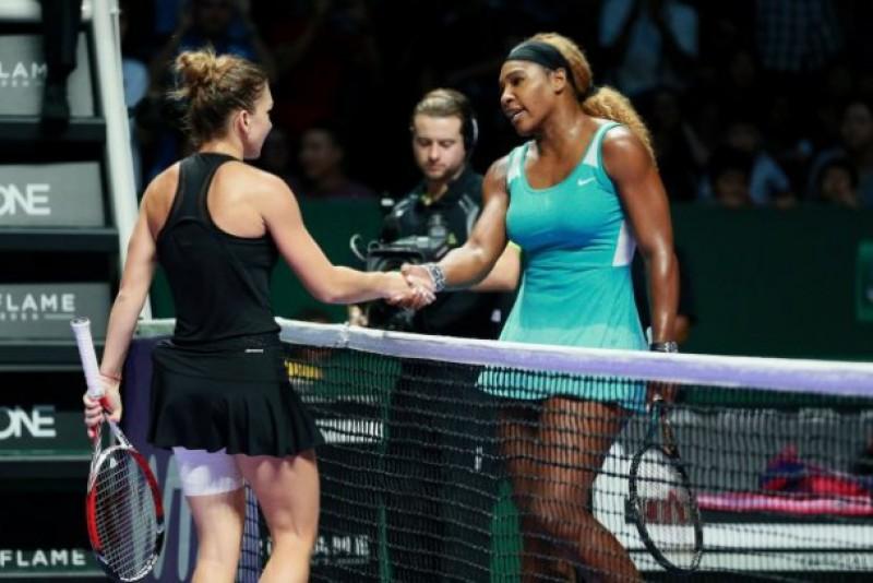 Serena Williams s-a retras de la Indian Wells, Simona Halep este în finală