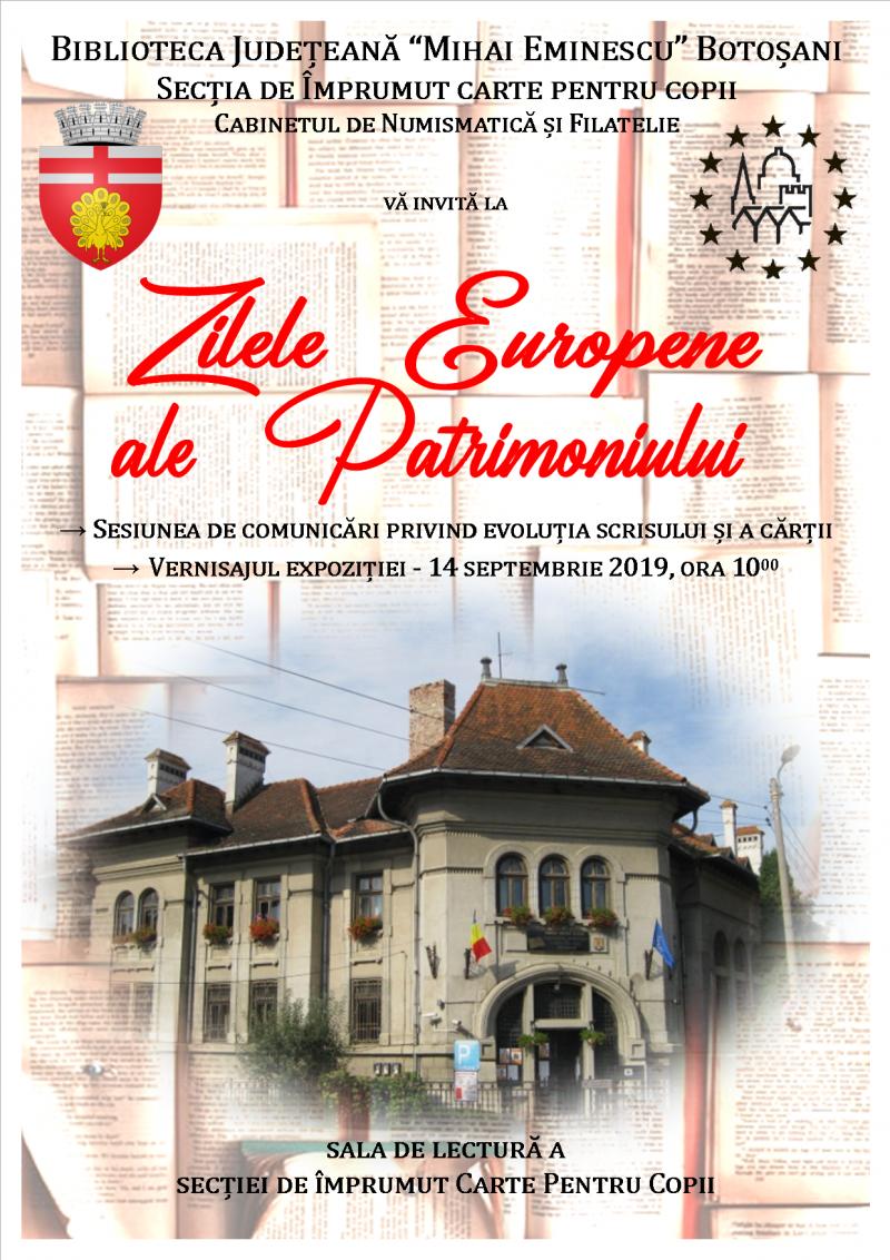 Sesiune de comunicări privind evoluția scrisului și a cărții, organizată de Biblioteca Județeană Botoșani