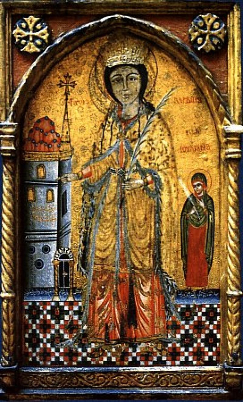 Sf. M. Mc. Varvara, prăznuită de credincioşii din Botosani