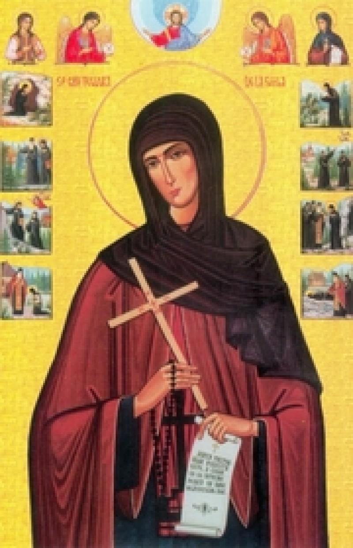 Sfânta Teodora de la Sihla, cea mai aleasă călugăriţă sfântă a monahismului românesc - VIDEO