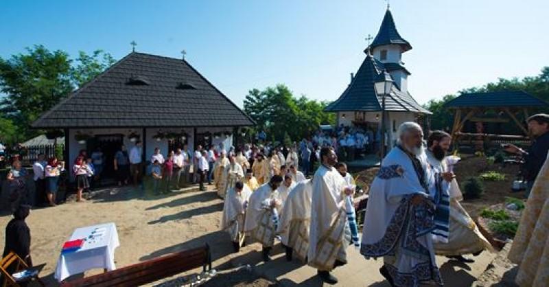 """Sfântul Ioan Iacob are """"casă nouă"""" în localitatea natală, Horodiștea! VIDEO"""