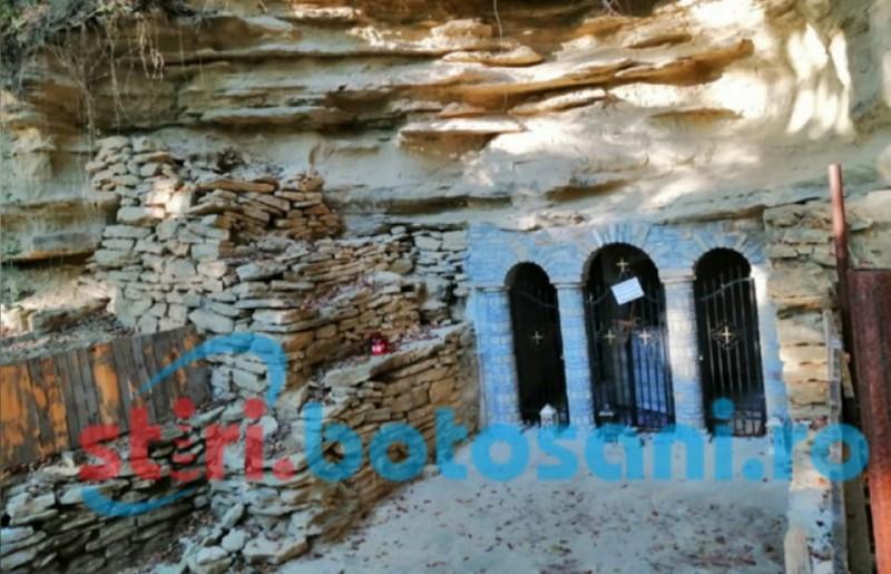 Sfântul Onufrie, cel mai mare sihastru al ținuturilor botoșănene, sărbătorit joi la Sihăstria Voronei