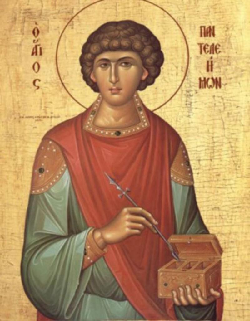 """Sfântul Pantelimon, doctor fără arginți. """"Se duce vara ca o pâine, vine iarna ca un câine"""""""