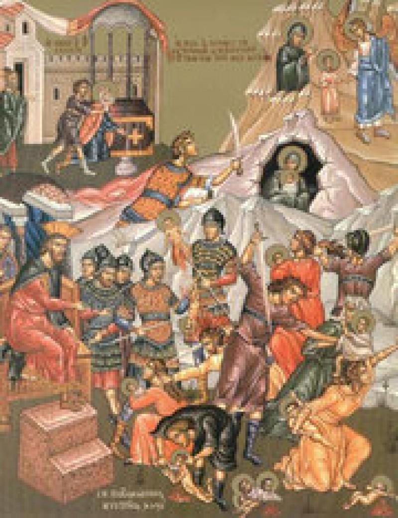 Sfintii 14.000 de prunci ucisi de Irod