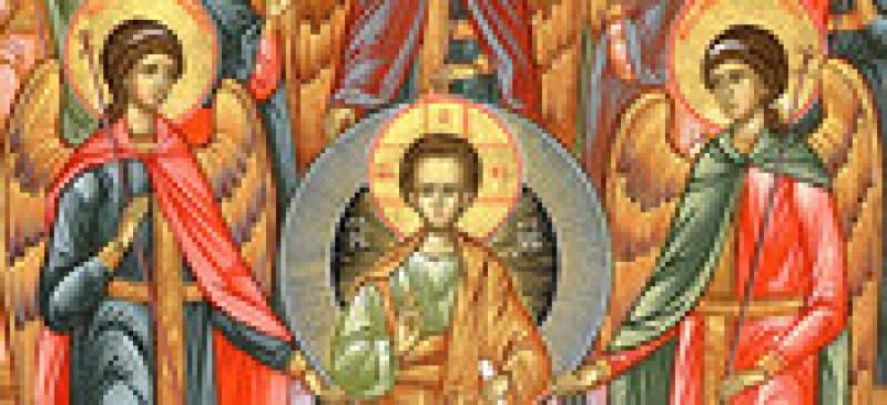 Sfinții Arhangheli Mihail și Gavriil. La mulți ani sărbătoriților zilei! VIDEO