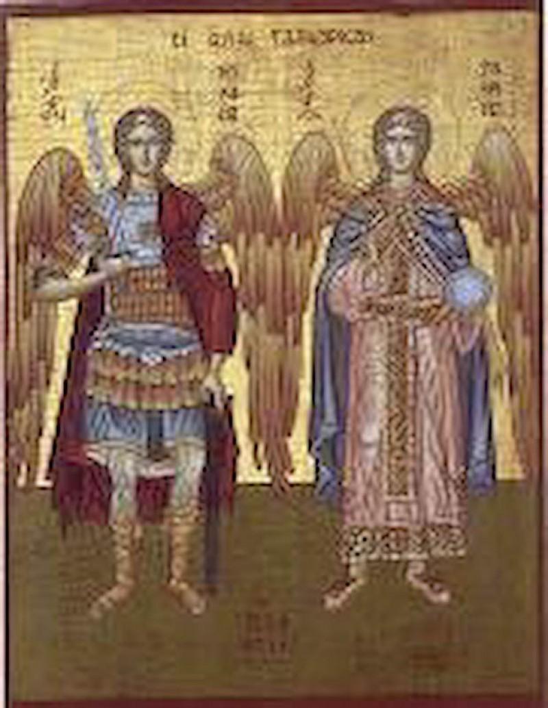 Sfintii Arhangheli Mihail si Gavril, patronii spirituali ai Jandarmeriei Romane