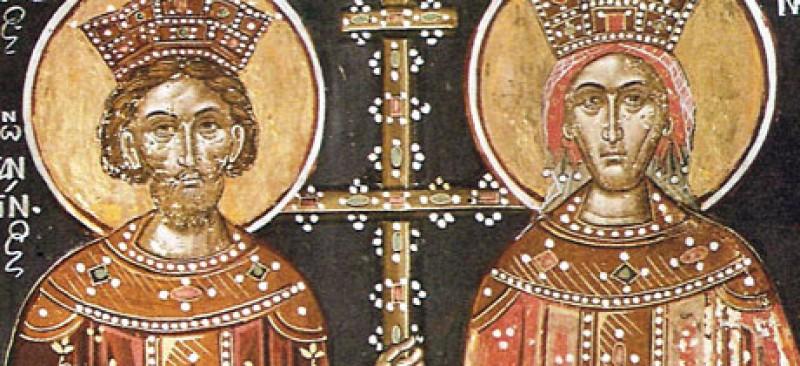 Sfintii Imparati Constantin si Elena. La multi ani tuturor celor care poarta aceste nume!