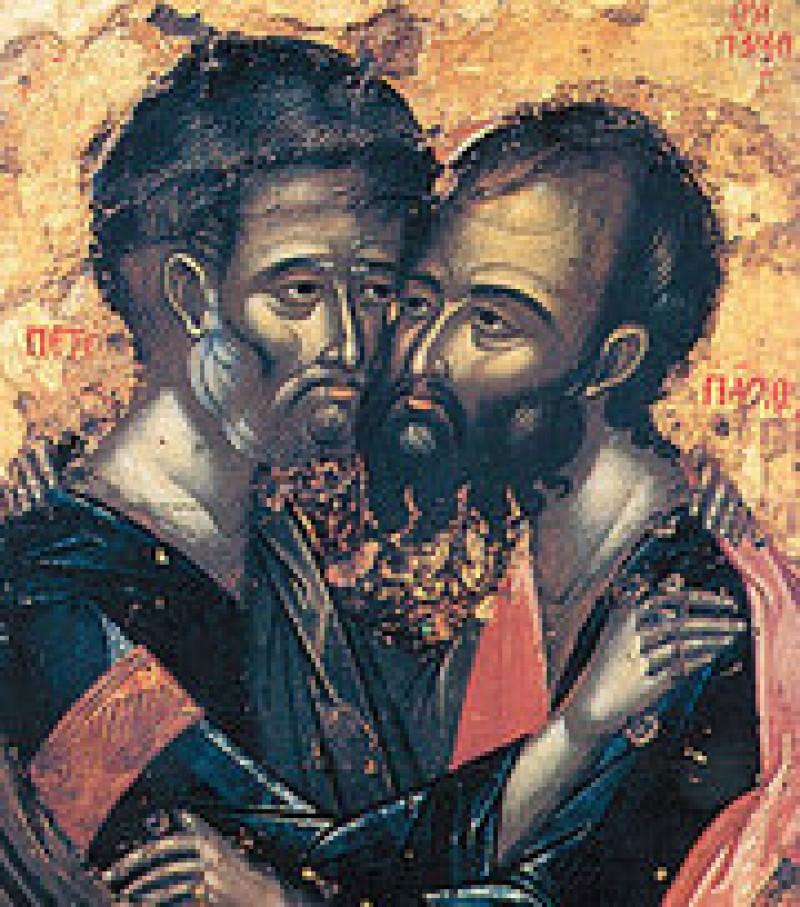Sfintii Petru si Pavel ne cheama la imbratisare! VIDEO