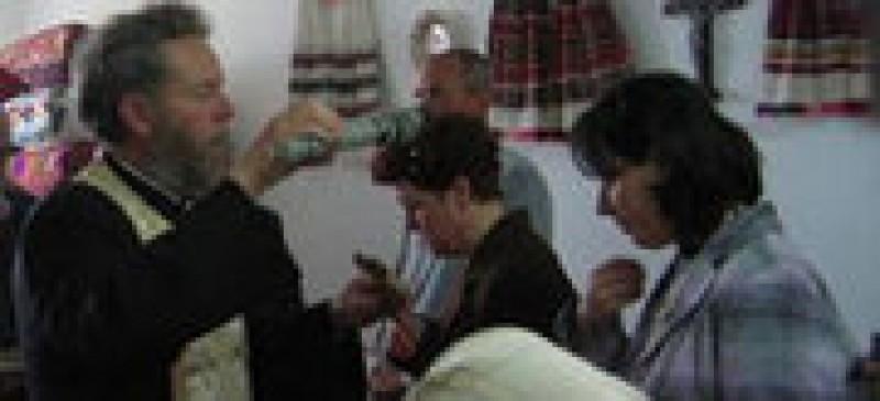 Sfintirea caselor de Boboteaza