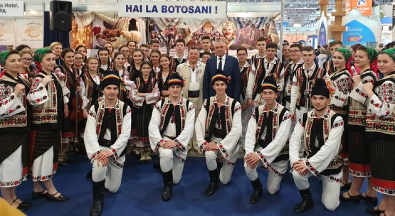 Și Consiliului Judeţean Botoşani a fost la Târgul de Turism al României