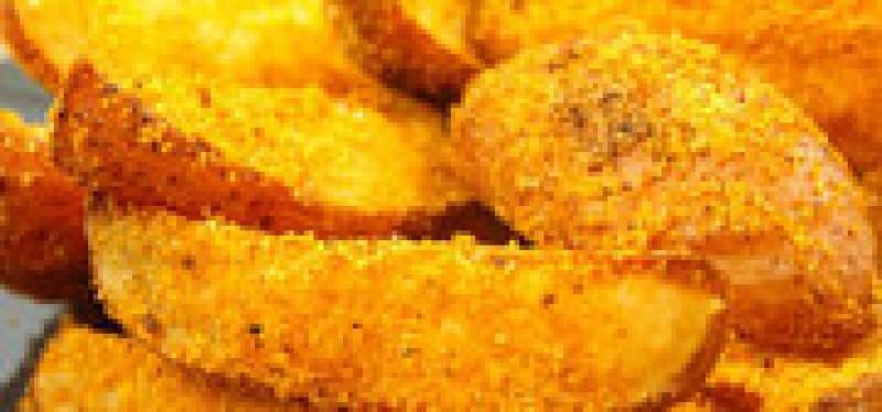 Și postul poate fi delicios: Cartofi în crustă de mălai