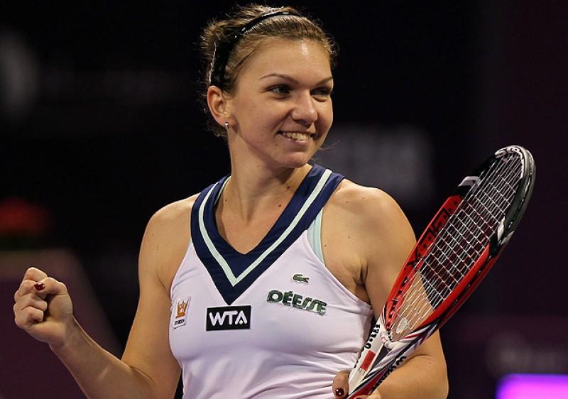 Simona Halep a abandonat in primul tur la Dubai