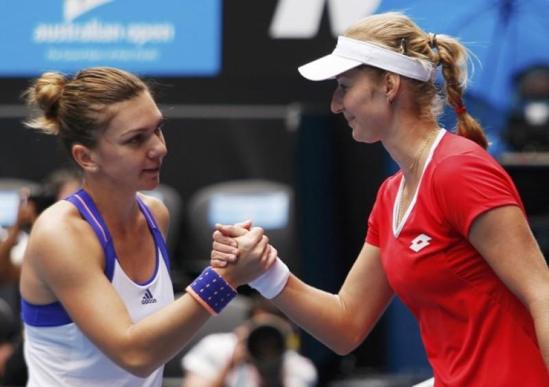 Simona Halep a fost ELIMINATA de la Australian Open!