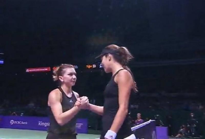 Simona Halep, în semifinale la Turneul Campioanelor!