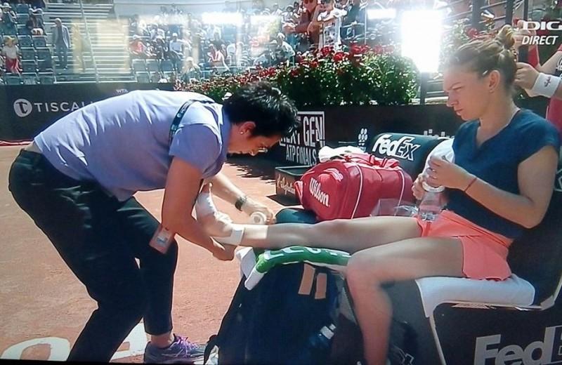 Simona Halep, învinsă în finală la Roma. Românca ratează ocazia de a reveni pe podiumul mondial