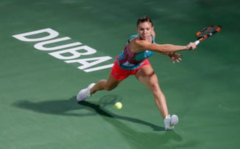 Simona Halep, învinsă în sferturile de finală de la Dubai