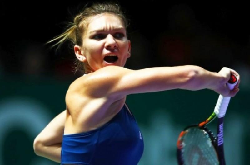 Simona Halep părăsește Turneul Campioanelor după o luptă EROICĂ împotriva Dominikâi Cibulkova