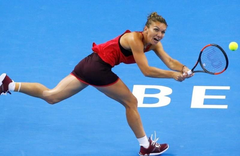 SIMONA HALEP pierde finala de la Beijing, în faţa Carolinei Garcia care s-a impus categoric. Rămâne însă NUMĂRUL 1 WTA
