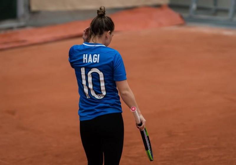 Simona Halep, primul antrenament la Roland Garros. WTA a glumit pe seama tricoului purtat de româncă!