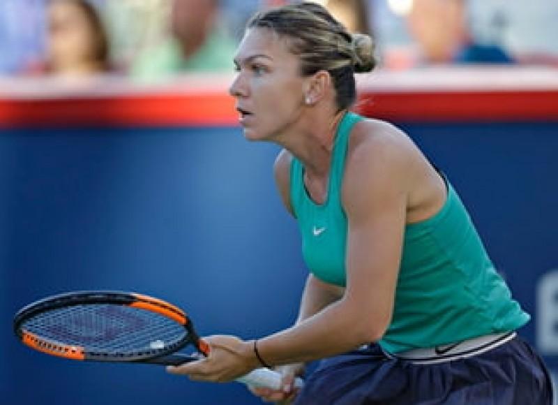 Simona Halep s-a calificat în finala Rogers Cup