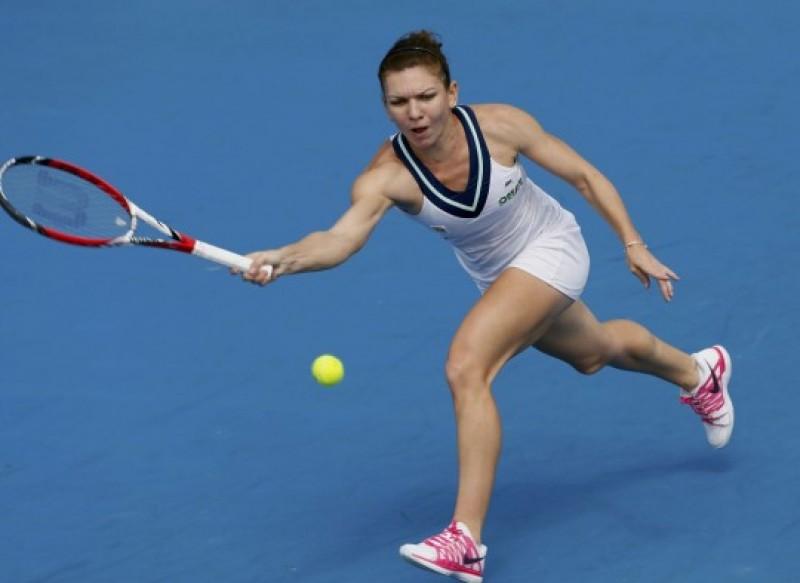 Simona Halep s-a calificat în optimi la Indian Wells!