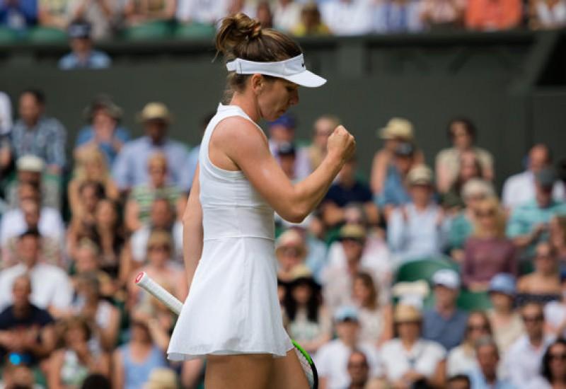 """Simona Halep s-a CALIFICAT în sferturile de finală ale turneului de la Wimbledon: """"Sunt foarte fericită, e un turneu special pentru mine"""""""