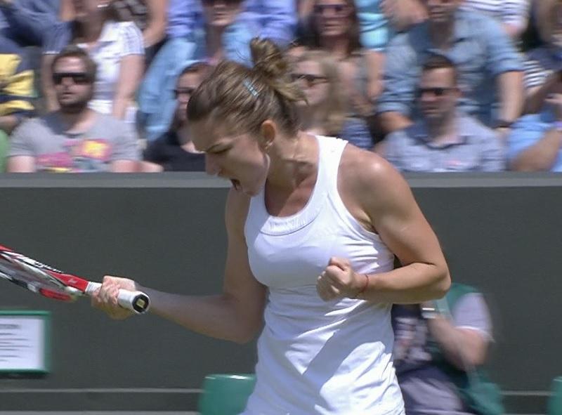 Simona Halep s-a calificat în turul III la Wimbledon, după o victorie în trei seturi