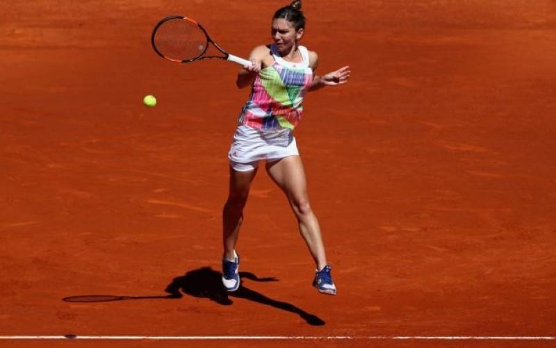 Simona Halep se califica in optimi la Roland Garros dupa un meci cu multe emotii
