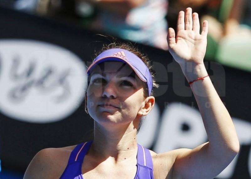 Simona Halep trece şi de Mattek-Sands la Australian Open! Begu a castigat si o va intalni pe Bouchard!
