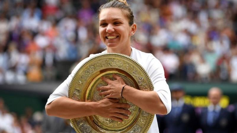Simona Halep urcă pe locul 4 WTA după victoria de la Wimbledon