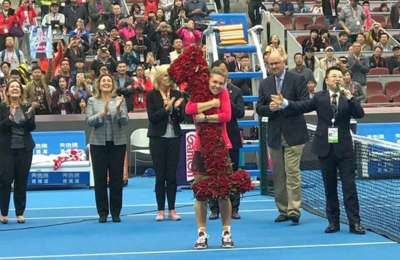 SIMONA HALEP va fi, începând de luni, NOUL NUMĂR 1 WTA, depășind-o pe spanioloaica Garbine Muguruza