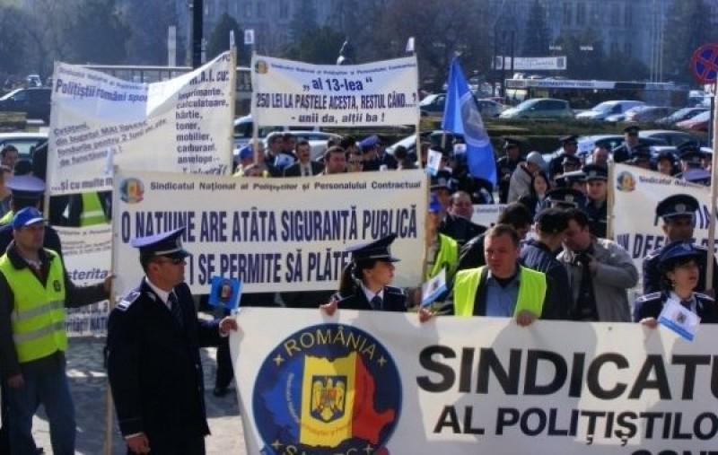 Sindicaliștii din Poliție anunță proteste în toată țara, nemulțumiți de înghețarea salariilor (document)