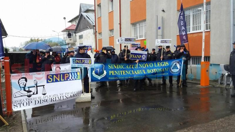 Sindicatele din Penitenciarul Botoşani anunţă proteste din cauza reducerii bugetelor!