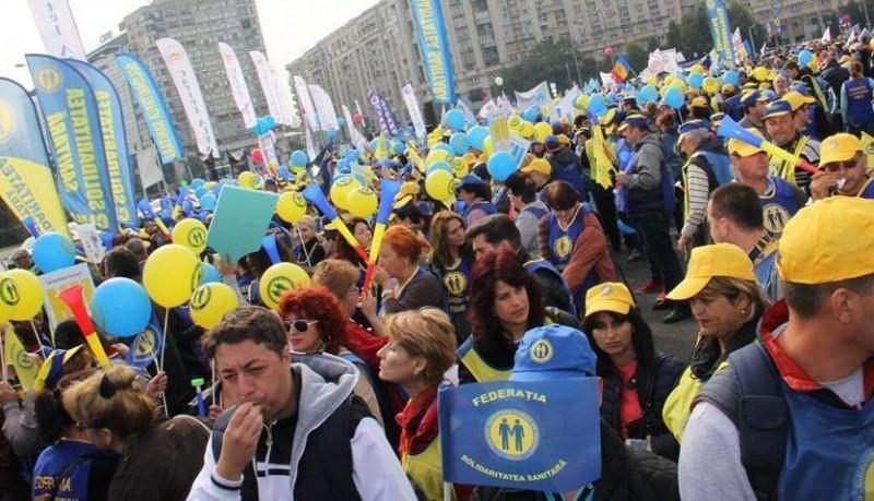 Sindicatele din sănătate anunţă proteste în prima parte a anului 2019