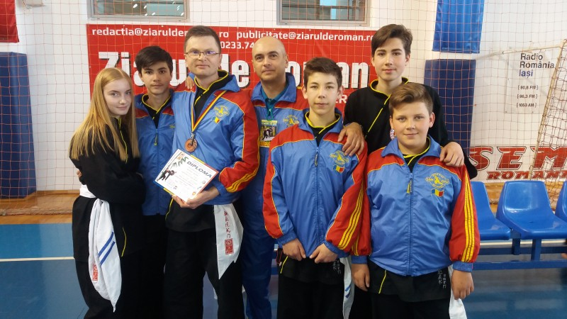 Sinh Dau Botosani pe podium la Campionatul National de la Roman - FOTO
