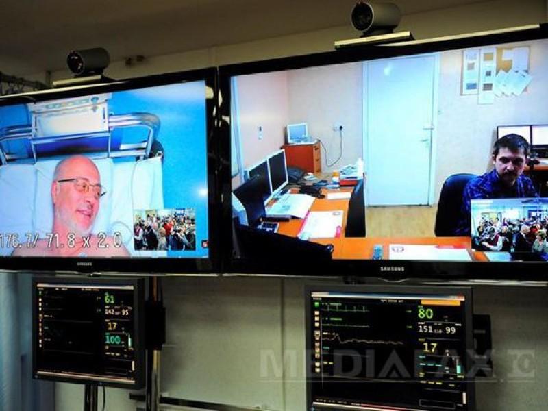 Sistem de telemedicină pentru bolnavii din satele izolate. Consultaţii prin tablete dotate cu camere web