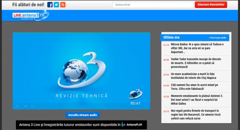 Site-ul Antena 3 a folosit automat un miner de criptomonede pe dispozitivele utilizatorilor. Ce spune șeful Antena Digital!